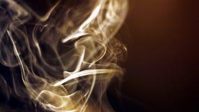 Fumo come simbolo di qualche cosa di momentaneo fotografia stock libera da diritti