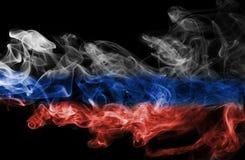 Fumo da bandeira de Rússia fotografia de stock royalty free