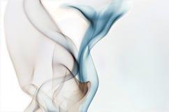 Fumo da cauda das baleias Imagem de Stock