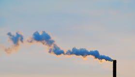 Fumo dai tubi Immagine Stock Libera da Diritti