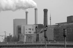 Fumo de Paris Imagens de Stock