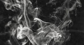 Fumo del fondo Fotografie Stock Libere da Diritti