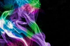 Fumo del Rainbow Immagini Stock Libere da Diritti