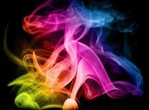 Fumo del Rainbow Immagine Stock Libera da Diritti