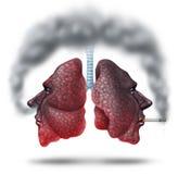 Fumo della seconda mano Immagine Stock Libera da Diritti