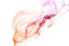 Fumo di colore Fotografia Stock Libera da Diritti