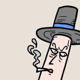 Fumo di eleganza Fotografia Stock