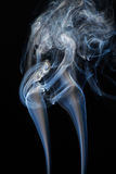Fumo di galleggiamento Immagine Stock
