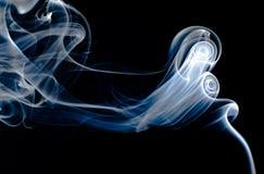 Fumo di mistero Immagini Stock