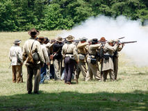 Fumo di pistola fotografia stock libera da diritti