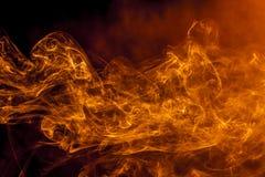 Fumo do fogo Fotos de Stock