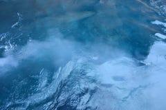 Fumo e mare ionico immagini stock libere da diritti