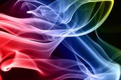 Fumo multicolore Fotografia Stock Libera da Diritti