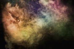 Fumo multicolore Fotografia Stock