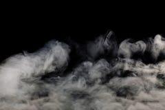 Fumo no fundo preto imagem de stock royalty free