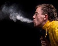 Fumo non sano Immagine Stock Libera da Diritti