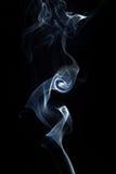 Fumo ou vapor no preto foto de stock royalty free