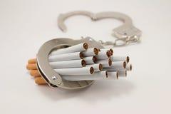 Fumo parado! Imagem de Stock Royalty Free