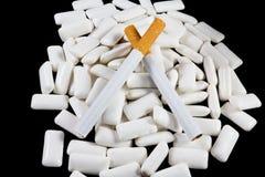 Fumo parado Fotografia de Stock