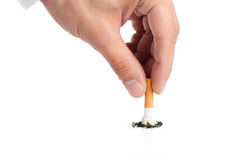 Fumo parado Imagens de Stock