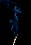 Fumo piacevole Fotografia Stock Libera da Diritti