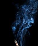 Fumo piacevole Fotografie Stock Libere da Diritti