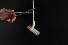Fumo Quit Fotografia Stock Libera da Diritti