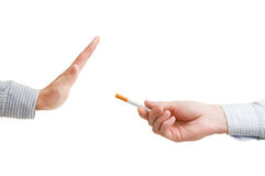 Fumo rinunciato Fotografie Stock