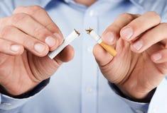 Fumo rinunciato Fotografia Stock Libera da Diritti