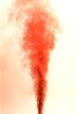 Fumo rosso Immagini Stock