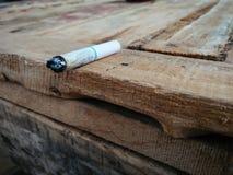 Fumo su legno Immagini Stock Libere da Diritti