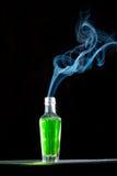Fumo torto Fotografia Stock