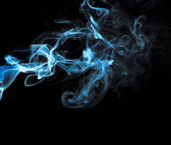 Fumo variopinto Fotografia Stock