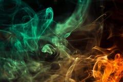 Fumo variopinto Immagini Stock
