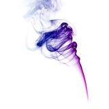 Fumo viola Immagini Stock