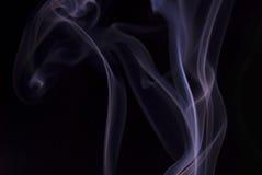 Fumo viola Fotografia Stock Libera da Diritti