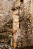 Fumone, średniowieczna wioska w Włochy Zdjęcia Stock