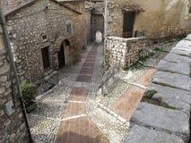 Fumone, Italia fotografia stock libera da diritti