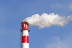 Fumy chimney Stock Image