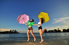 Fun At The Beach 86 Stock Images