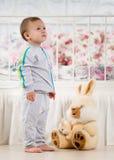 Fun baby royalty free stock image