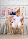 Fun baby royalty free stock photography