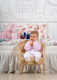Fun baby royalty free stock images