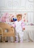 Fun baby stock photo