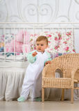 Fun baby royalty free stock photo