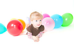 Fun Baloons Royalty Free Stock Photo