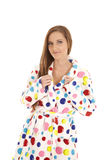 Fun bathrobe Royalty Free Stock Image