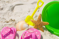 Fun at the beach Royalty Free Stock Photography