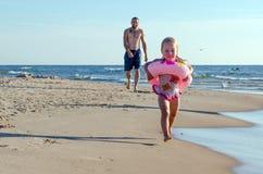 Fun on the beach Royalty Free Stock Photo