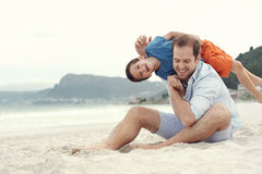 Fun at the beach Royalty Free Stock Images